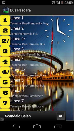Bus Schedules Pescara