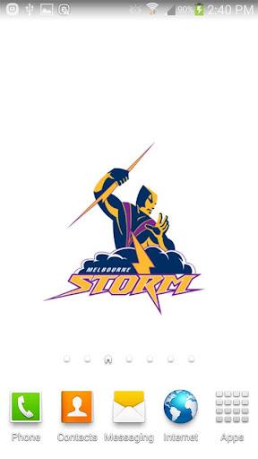 Melbourne Storm Spinning Logo