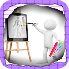 Kids Drawing & Color Book Free icon
