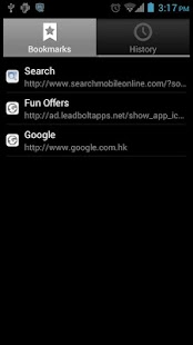 Browser for Android - screenshot thumbnail