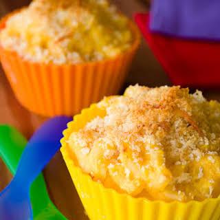 Butternut Squash Mac and Cheese Cupcakes.