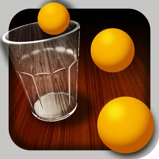 GlassPong  Practice Beer Pong