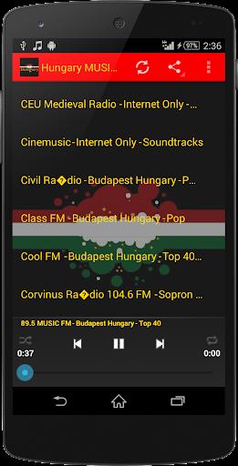 Hungary MUSIC Radio