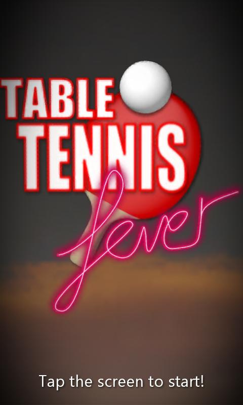 Table Tennis Fever- screenshot