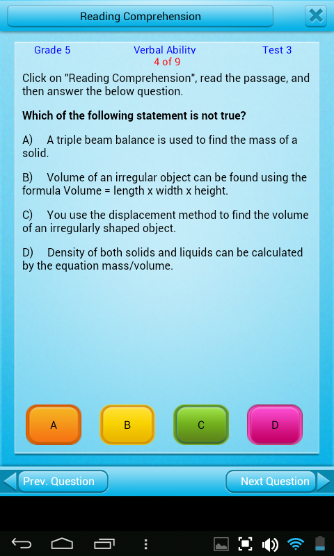 Free Grade 5 Math English 5th- screenshot