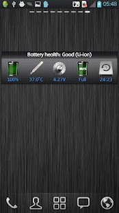 WBatteryWidget - screenshot thumbnail