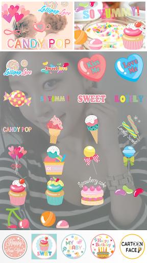 Candy Camera - Sticker
