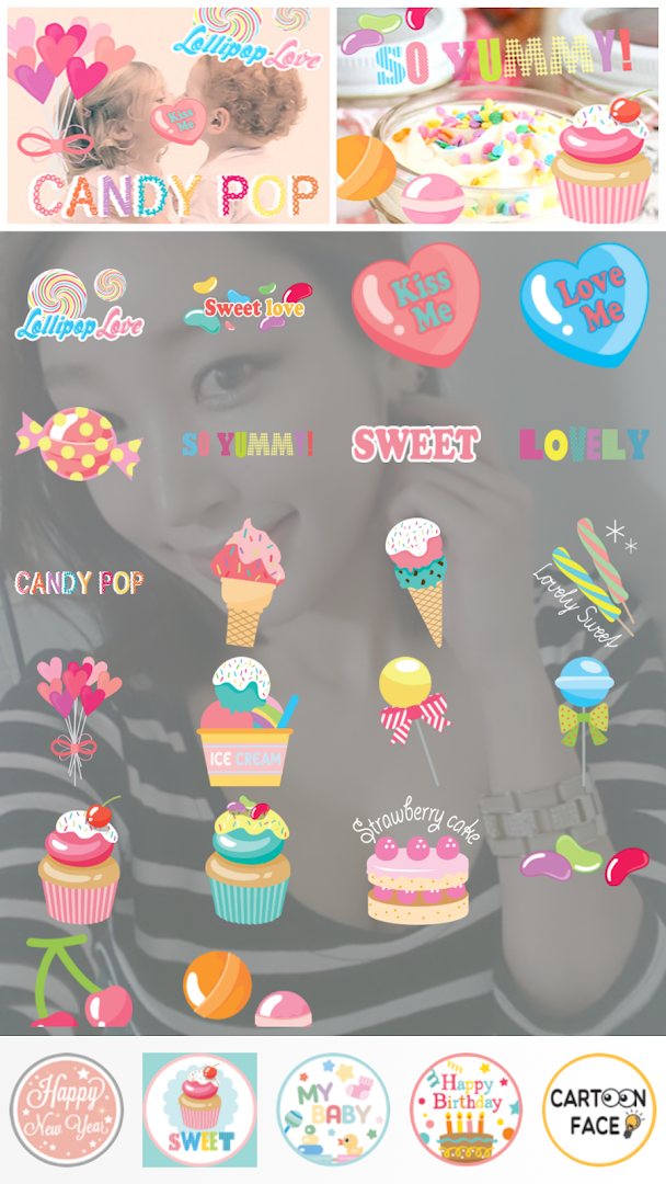 Candy Camera - Sticker - Google Play Store revenue