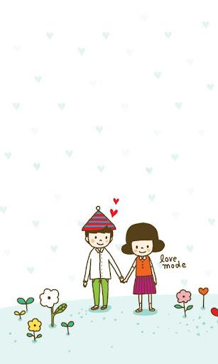 CUKI Theme LoveMode wallpaper