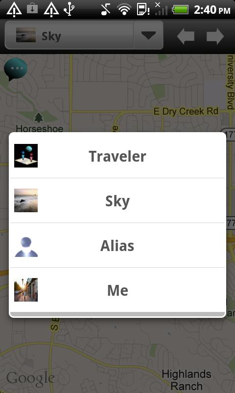 Phone Tracker-IM Map Navigator - screenshot