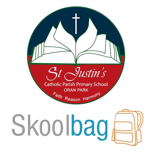 St Justin's Oran Park Skoolbag 教育 App LOGO-APP試玩