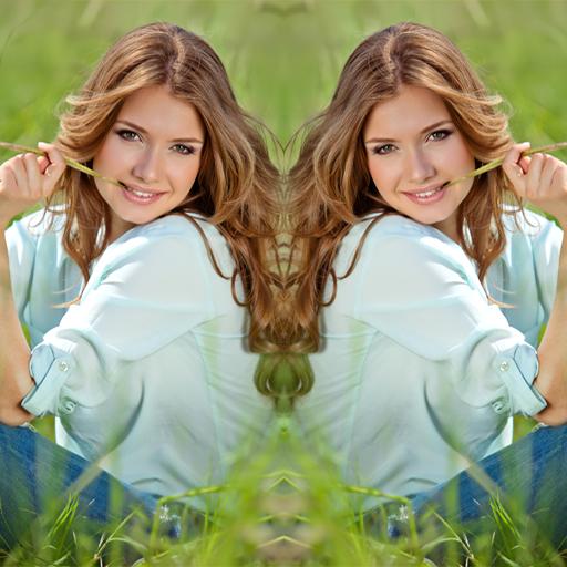 鏡照片編輯器和拼貼 攝影 App LOGO-APP試玩