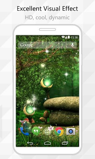 Moon Lamp Live Wallpaper