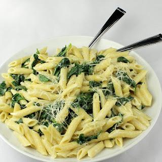 Spinach Lemon Cream Sauce