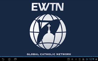 Screenshot of EWTN