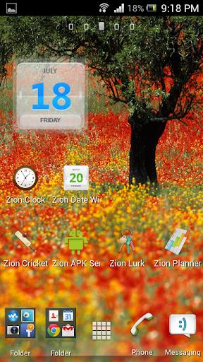 Zion Date Widget
