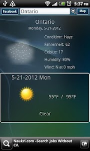 Weather Guide screenshot 1