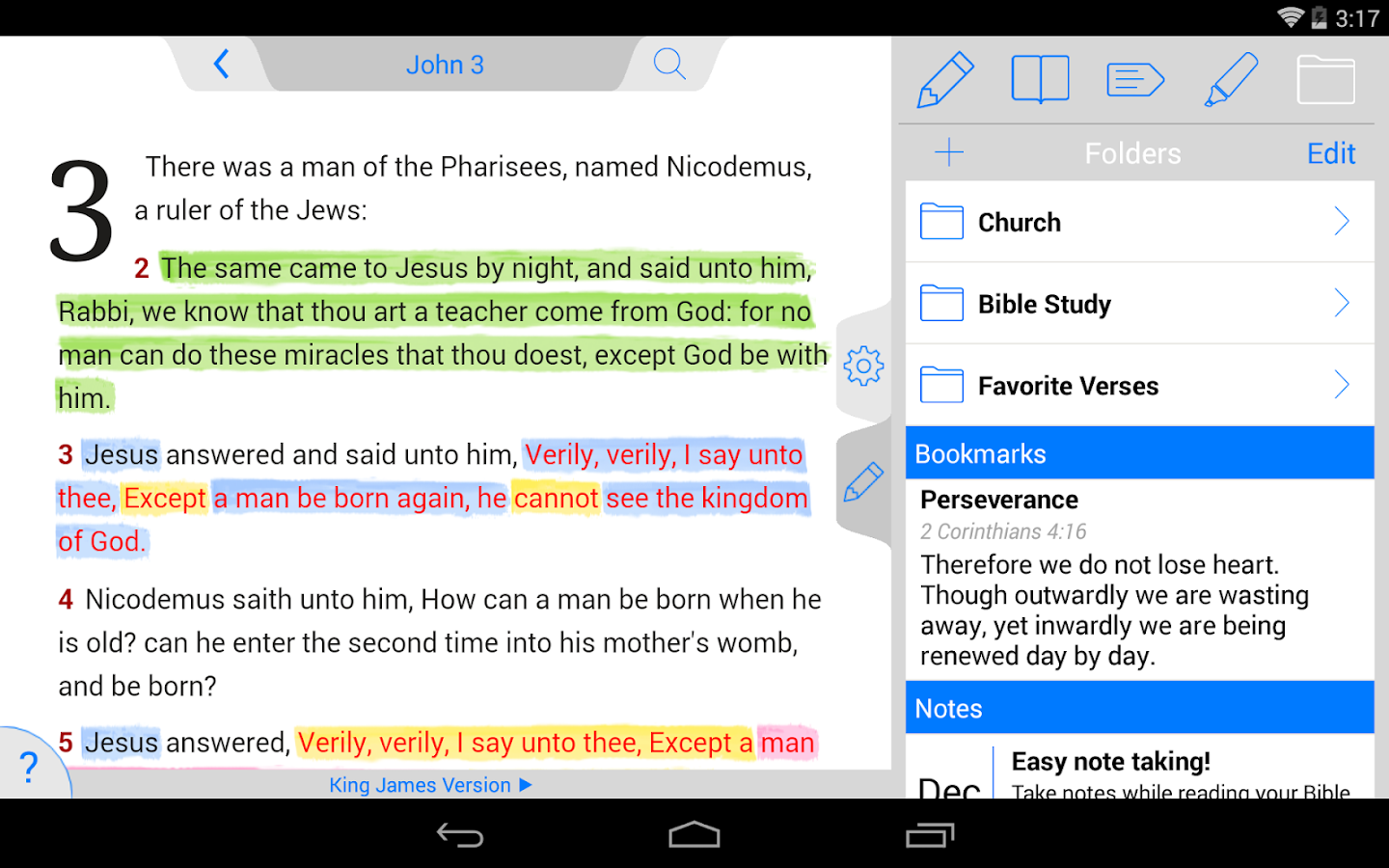 Holy Bible KJV (Offline)- screenshot