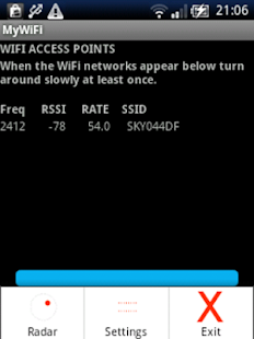 MyWiFi RADAR- screenshot thumbnail