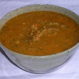 Vegetarian Lentil Soup Recipe