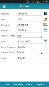 Money Tracker - Expense Budget v2.8