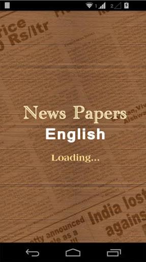 Newspapers English