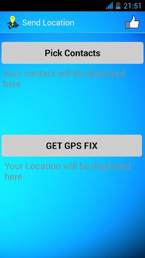 Send Location- GPS Tracker