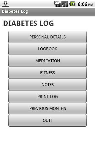 糖尿病ログ