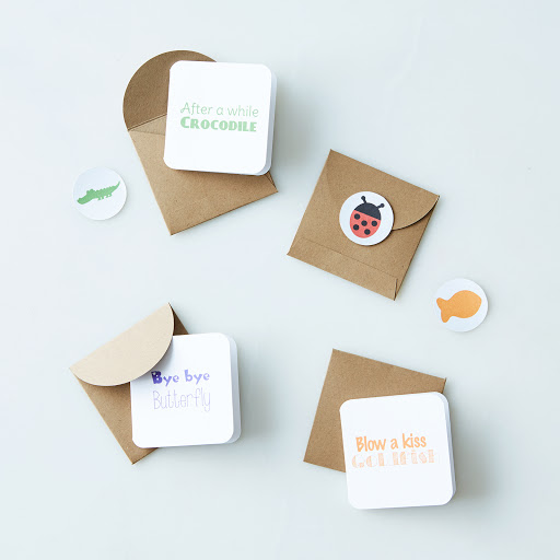 Animal Lunchbox Notes (Pack of 20)
