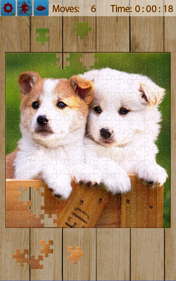 Dogs Jigsaw Puzzles - screenshot