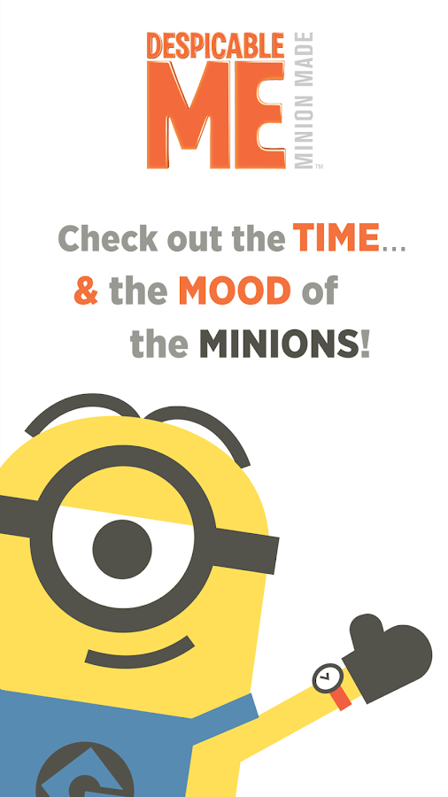 Despicable Watch Face- screenshot