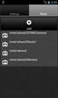 Screenshot of UPnP Server