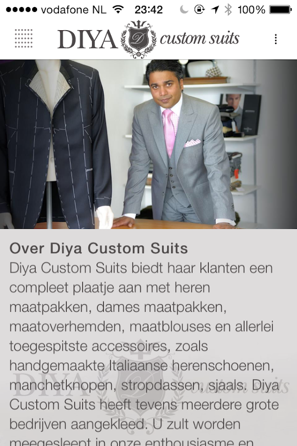 Custom Suits / DIYA- screenshot
