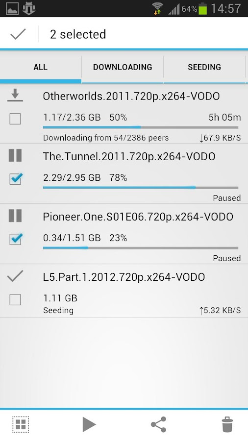 aTorrent BETA - Torrent App - screenshot