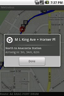 Chapel Hill Bus Locator - screenshot thumbnail
