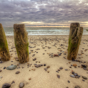 Beach at Danmark by Alexander Kulla - Landscapes Waterscapes ( water, danmark, europe, waterscape, beach,  )