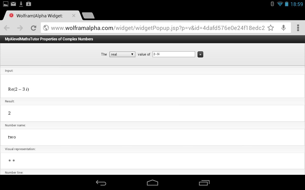 Complex Numbers Practice- screenshot