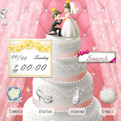 CUKI Theme A Wedding Cake