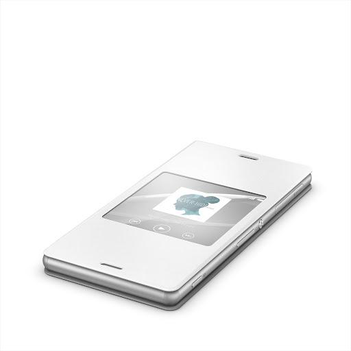 Xperia™桌布︰白色