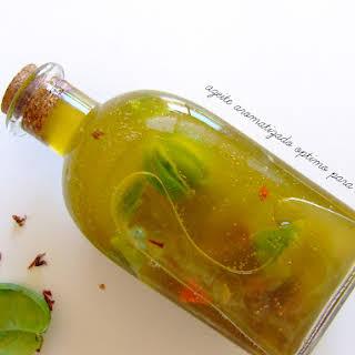 Special Olive Oil Salad Dressing.