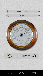 Accurate Barometer Free screenshot 0