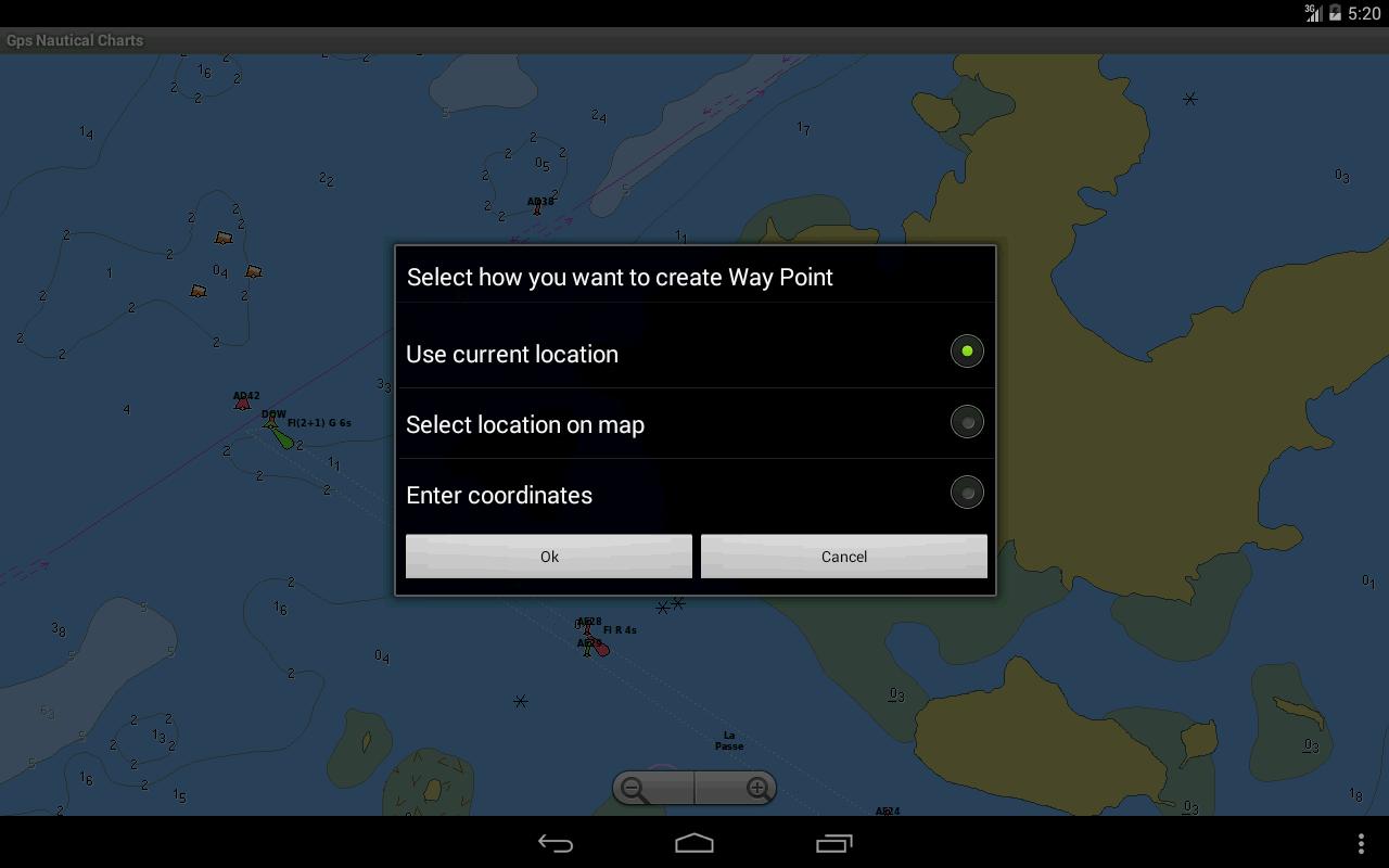 Marine Navigation/Chart-Canada - screenshot