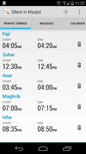 Silent In Masjid