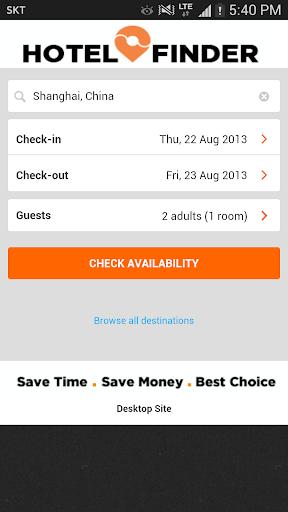 HotelFinder HK