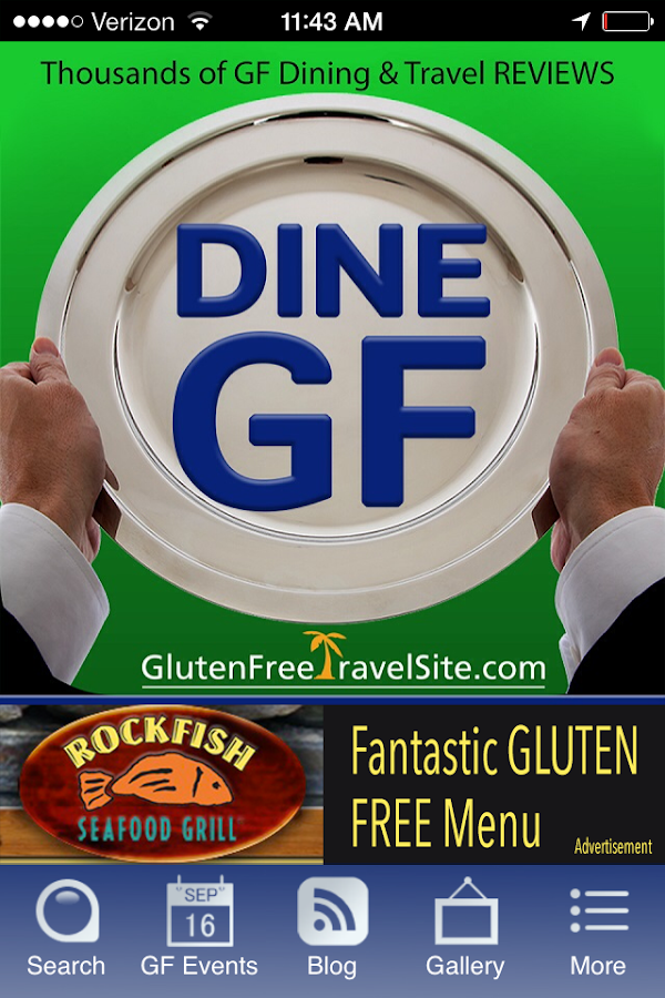 Dine Gluten Free- screenshot