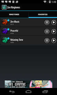 Zen Ringtones- screenshot thumbnail