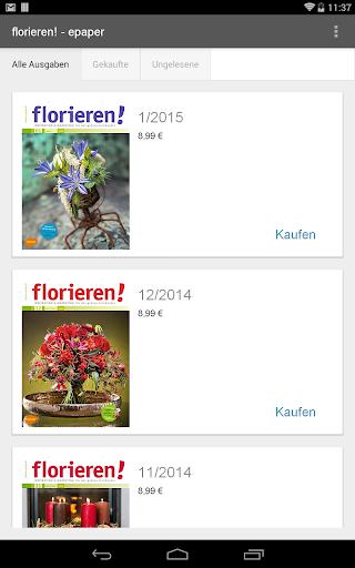 florieren - epaper