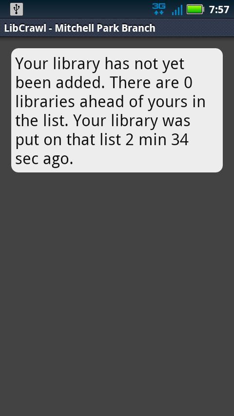 LibCrawl- screenshot