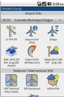 PilotWxChartJr with PilotGPS - screenshot thumbnail