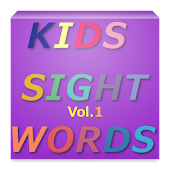 KIDS SIGHT WORDS Vol.1